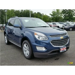 2017 CHEVROLET EQUINOX BLUE