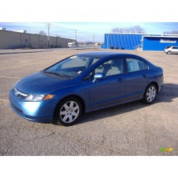 2008 HONDA CIVIC BLUE