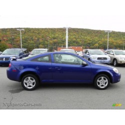 2007 CHEVY COBALT COUPE BLUE