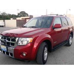 2008 FORD ESCAPE RED