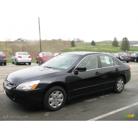 2003 HONDA ACCORD BLACK